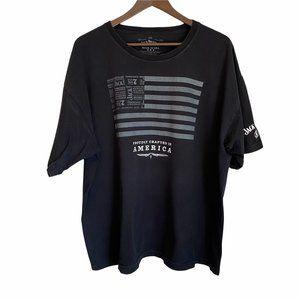 Jack Daniels Black Short Sleeve t-shirt 2xl